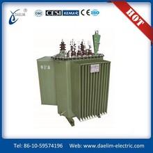 S11-MR Three-phase Full-sealed 10.5kv 63kva Spiral Core Power Transformer
