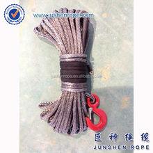 Cheap updated 6mm*15m atv/utv synthetic winch rope