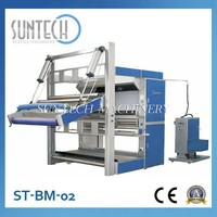 Suntech Fabric Inspection System Hot Fabric Winding Machine