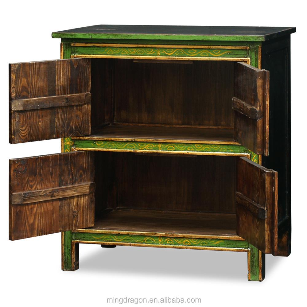 Chinese antieke meubelen tibetaanse geschilderd kast houten kasten ...