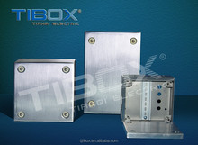 2015 TIBOX Hot sales Waterproof Stainless Steel Terminal box IP66