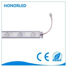 waterproof 48pcs smd5730 hard led strip light with lens