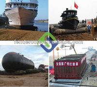 Ship launching rubber airbags for rent