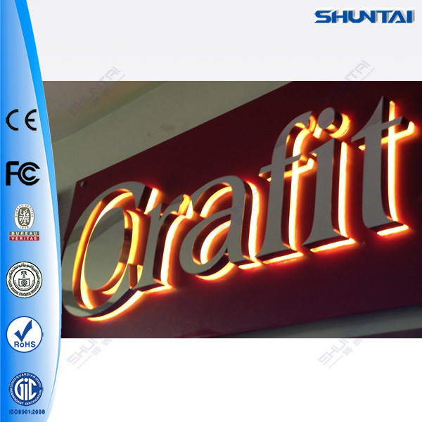 Channel Acrylic Led Letters Shop Name Board Designs - Buy ...