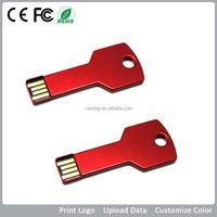 Promo key usb flash drive with custom logo 1GB-64GB