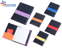 Promotional PU Cover Notepad with pen