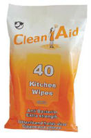40pcs kitchen cleanser /kitchen cleaning wipes/household wipes