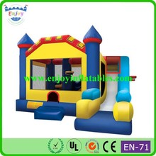 2015 Enjoy mickey mouse/jungle/birthday cake/bird angry/spongebob/cars/princess/sports/cartoon/ inflatable jumping castle combo