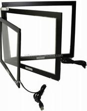 "42"" Black aluminum frame for LCD TV or PC infrared touch screen frame."