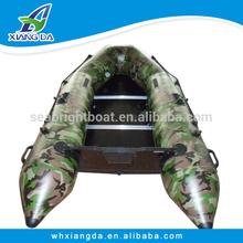 Certificado CE Made in China casco PVC barco de la velocidad barco inflable del agua para los niños