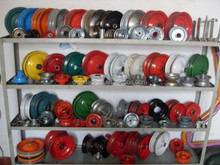 China wholesale high quality many sizes rubber wheel rim for low speed carts and other hand tools