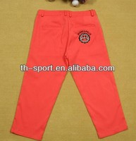 Colored Lady Short Golf Pants