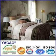 american 100% combed cotton satin jacquard bedding sets