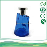 A3088-100ML customied design men royal blue men empty perfume bottle