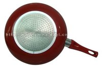 aluminum non-stick frying pan with induction bottom