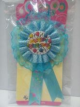 Happy Birthday Rosette Badge