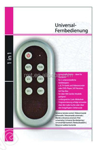 Good quality ABS univesal remote controller UN-080 Big key for old generation