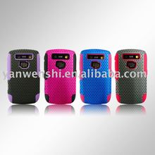 Mesh Combo Cell Phone Accessories for Blackberry Curve 8900