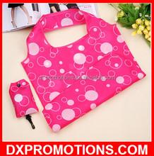 OEM Folding shopping bags/ foldable polyester bag/cute foldable bags