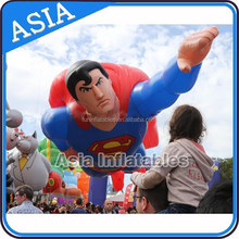 Inflatable floating advertising balloon/inflatable advertising superman model