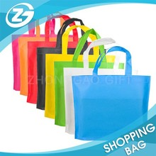 OEM Designed Color Folded Nonwoven Shop Tote