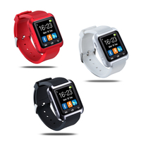 Bluetooth Smart Watch Inteligente for Apple iPhone 5 5S 6 Plus ,for Samsung S5 S4 for Huawei Android Phone Sport Silicone Watch