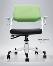 Triumph high quality Modern folding armrest chair office / meeting room PU chair / modern cute lift office chairs