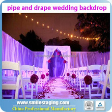 Backdrop pipe and drape for wedding, wedding backdrop curtains flower backdrop