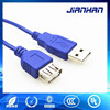 China manufacturer 4pin a type male to female extender usb data cable