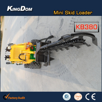 Used Mini Skid Steer Loader Mini Tiller