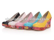 ladies fashion sexy high heel shoes