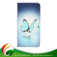 Top Quality Customized Oem For Iphone 4S Leather Flip Case