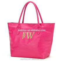 Personalized Faux Leather Monogrammed Handbag