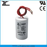 YF Brand AC Motor Capacitor with UL, CQC & CE Approval(CBB60, CBB61 & CD60 Models)