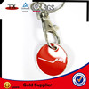 nickel keyring with coin holder