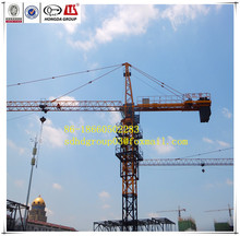 Tower crane manufacture directly sale QTZ125F (6015) 10 ton electric hot sale overhead Tower crane for sale