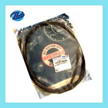 Chinese High Quality Black Motorcycle Clutch Cable for BAJAJ CT100