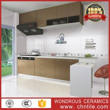 30x60cm modern kitchen designs iran ceramic tiles with white teapot and cup pattern