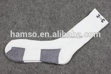 personalizado de alta calidad hecho calcetines de baloncesto
