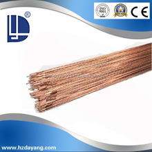 Best quality R-45 Copper coated cut length solid wire for Oxyfuel gas welding.