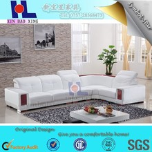 Italy Hot Sale Sectional Furniture L Shape Leather Sofa, Corner Leather Sofa, Recliner Leather Sofa