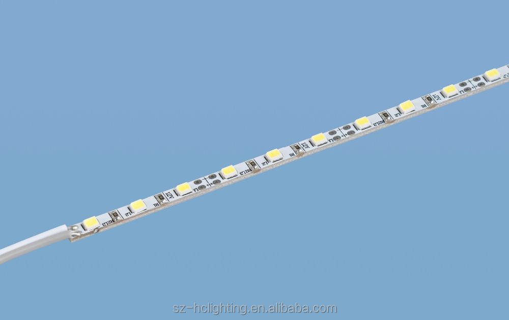 Ultra thin 4mm SMD 2835 rigid strip led, 4mm width 2835 LED Rigid Strip