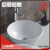 New Ceramic Design Washbasin Flat Bathroom Sink Price