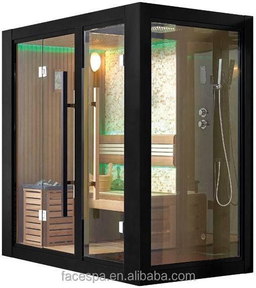 Maison de vapeur sauna avec cabine de douche fs 1404 pour maison moderne conc - Cabine de douche sauna ...