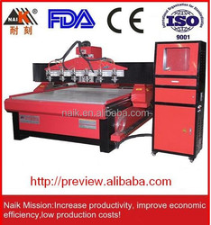 cnc router machine desktop with embossing/debossing 4STC-1818-6