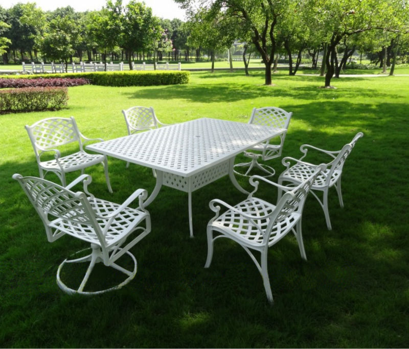 Mobili rio de jardim ferro fundido mesa e cadeira 101215f for Mesas jardin baratas