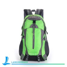 Waterproof Nylon sky Travel Backpack Bags For Men