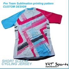 Cycling wear Pro Team apparel custom specialized Printing Short sleeve Cycling jerseys