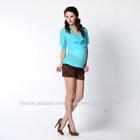 Latest desgin roupas femininas blusas feitas na China