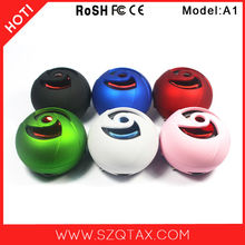 2015 new mp3 portable mini best outdoor subwoofer speaker with rechargeable battery and 40mm powerful unit for sport travel